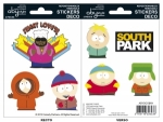 South Park - Stickers - 16x11cm/ 2 planches - Personnages ABYstyle