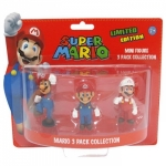 Nintendo - Pack Super Mario : 3 Mini Figurines