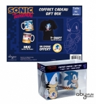SONIC - Pack Too Slow T-shirt + mug + badge ABYstyle