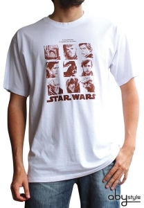 STAR WARS - T-shirt galerie portraits homme ABYstyle