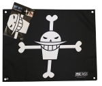 ONE PIECE - Drapeau Barbe Blanche 50x60cm ABYstyle