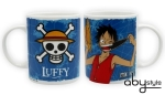 One Piece - Mug - 320 Ml - Luffy & Emblem -  Porcelaine ABYstyle