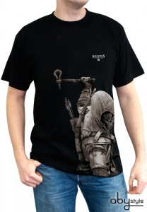 Assassin's Creed 3 III - T-shirt Connor Homme Abystyle