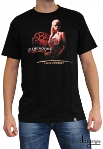 Game Of Thrones - T-shirt Mother Of Dragons Homme Abystyle