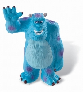 Monstres & Cie figurine Sulley 8 cm Bullyland Disney
