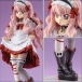 Zero No Tsukaima - Louise Gothic Punk Sweet Strawberry Ver. Statue Alter