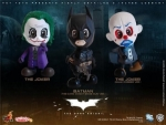 Batman The Dark Knight pack 3 figurine Cosbaby Hot Toys