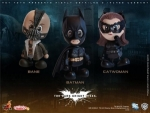 Batman The Dark Knight rises pack 3 figurine Cosbaby Hot Toys