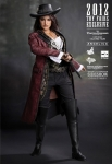 "Pirates des Caraïbes 4 Masterpiece Angelica Hot Toys 12"" SDCC 2012 Exclusive"