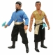 Star Trek TOS Figurines Retro Mirror Universe Kirk & Spock