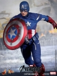 The Avengers Captain America Hot Toys 12""