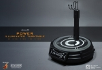 "Socle lumineux & Rotatif pour figurine 12"" Hot Toys ACTION-TT POWER"