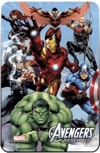 Marvel Comics Steel Covers panneau métal Avengers 17 x 26 cm