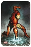 Marvel Comics Steel Covers panneau métal Iron Man 17 x 26 cm