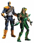 Injustice pack 2 figurines Deathstroke vs. Green Arrow DC Direct