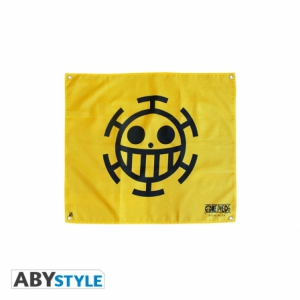One Piece - Drapeau Trafalgar Law 50X60 cm Abystyle