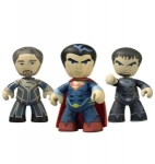 Man of Steel pack 3 figurines Mez-Itz Summer Exclusive Mezco