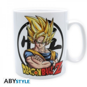 Dragon Ball mug 460 ml - DBZ Goku - Porcelaine Abystyle