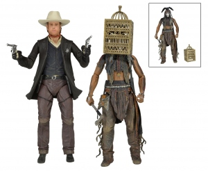 The Lone Ranger série 2 complète 2 figurines Deluxe Neca