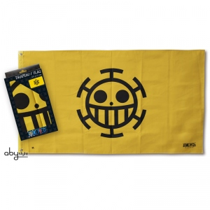 One Piece - Drapeau Trafalgar Law 70X120 cm Abystyle