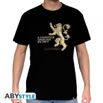 Game Of Thrones - T-shirt Lannister Abystyle