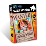 One Piece Puzzle 100 Pcs Wanted Luffy Obyz
