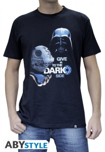 Star Wars T-shirt Dark Side Darth Vader Homme Abystyle