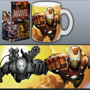 Marvel Mug Iron Man Invincible Duo