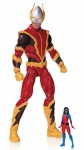 DC Comics Super Villains figurine Johnny Quick with Atomica DC Collectibles
