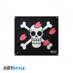 One Piece Drapeau Skull Chopper 50X60cm Abystyle