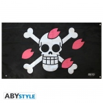 ONE PIECE Drapeau Skull Chopper 70x120cm Abystyle