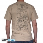 Game Of Thrones T-shirt Carte Homme Abystyle