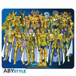 Saint Seiya Tapis De Souris Chevaliers D'Or Abystyle