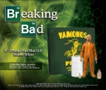Breaking Bad figurine Deluxe Walter White in Orange Hazmat Suit Mezco