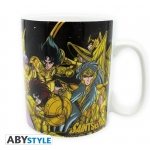 Saint Seiya mug 460 ml Chevaliers d'Or Abystyle