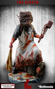 The Evil Within statue The Keeper Gaming Heads
