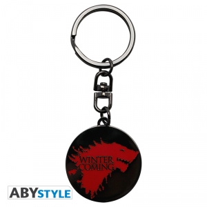 Game Of Thrones - Porte-Clés Winter is coming Abystyle