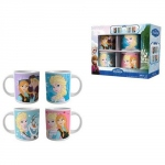 La reine des neiges Lot de 4 mugs céramique Disney