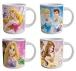 Disney Princess pack 4 mugs céramique