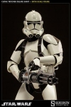 "Star Wars figurine 1/6 Deluxe Shiny Clone Trooper 12"" Sideshow"