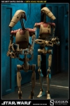 Star Wars figurines 1/6 Security Battle Droids Sideshow