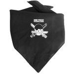 One Piece Bandana Pirate Noir Toei
