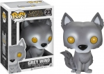 Games Of Thrones Pop! 23 Figurine Grey Wind Exclusive! Funko