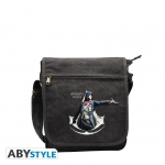 Assassin's Creed Unity Sac Besace Crest Blanc Petit Format Abystyle