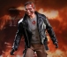 "Terminator figurine Movie Masterpiece T-800 Battle Damaged 12"" Hot Toys"