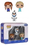 La Reine Des Neiges Pocket Pop Vinyls 01 Tin Box Pack Anna Elsa Olaf Funko
