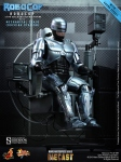 "RoboCop figurine MMS Diecast with Mechanical Chair 12"" Hot Toys"