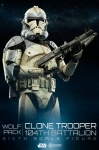 Star Wars figurine Wolfpack Clone Trooper 104th Battalion Sideshow