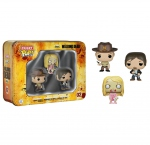 The Walking Dead pack 3 figurines Pocket POP! Tin Box Funko