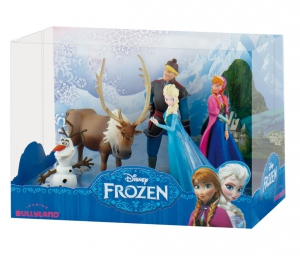 La Reine des neiges pack 5 figurines Deluxe Bullyland